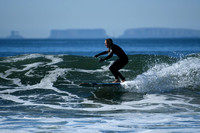 Surfing in Ventura, California