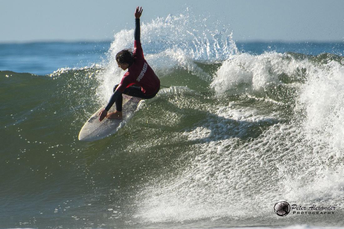 Surfing in Ventura, California