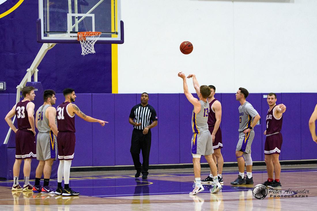 CLU vs Redlands Men's Basketball