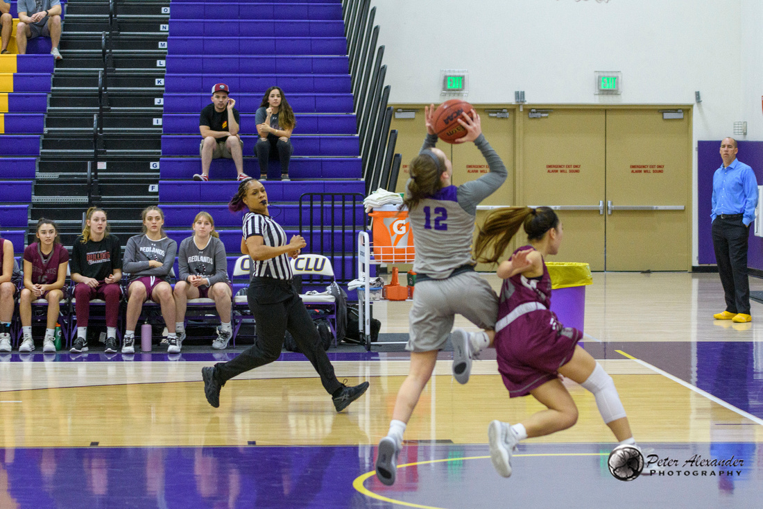 CLU vs Redlands Basketball